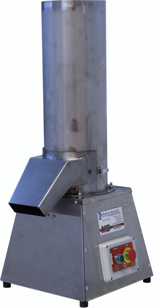 Bread Grinder For Bakeries With Interchaneable Sieve
