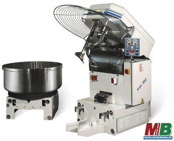 Dagasztó gépek kivehető csészével - MAC.PAN MSPA széria