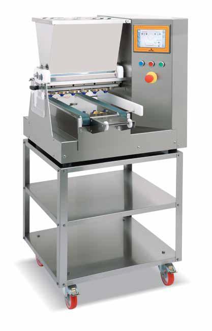 Teasütemény gyártó gép