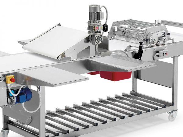Leveles tészta gyártó gép: hulladék tészta eltávolító (opció)