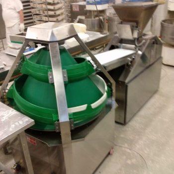 Kúpos gömbölyítő gép