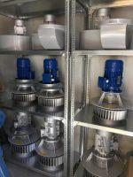 Kemence légforgató és elszívó ventilátorok