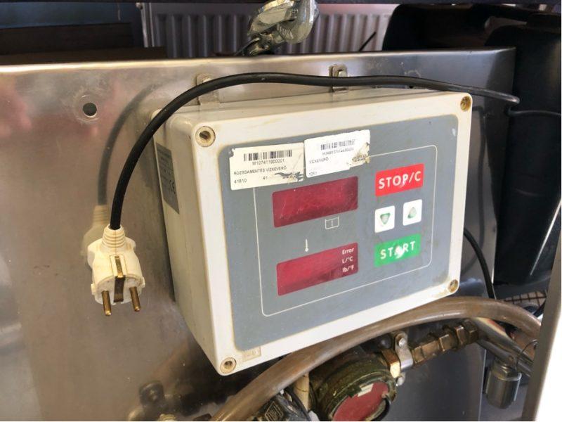 Használt vízkeverő gép