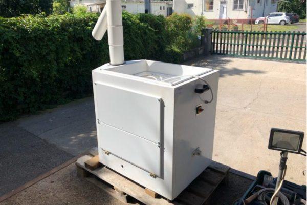 Felújított lisztszita gép
