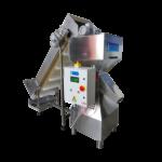 Ipari morzsadaráló gép felhordó szalaggal