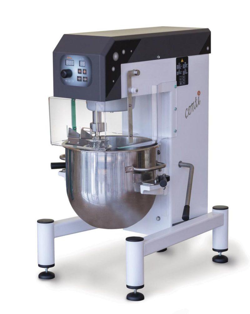 20 literes habverő krémkeverő dagasztó gép, asztali kivitel