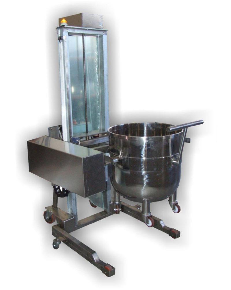 Csészebillentő habverő géphez