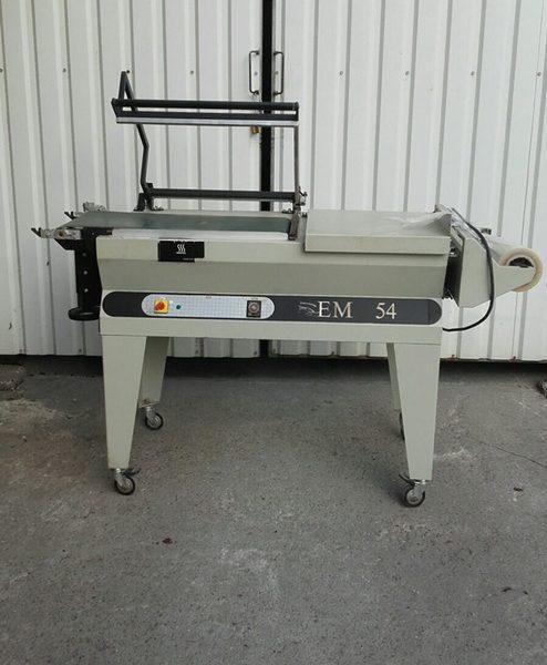 MINIPACK TORRE EM54 szalagos fóliázó gép