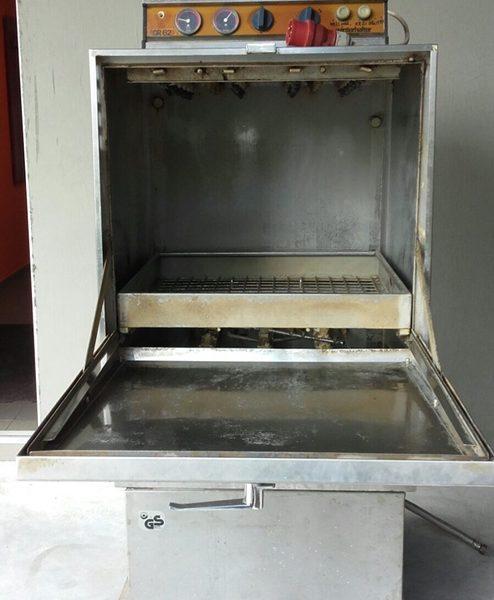 Használt ládamosó / ipari mosogató gép