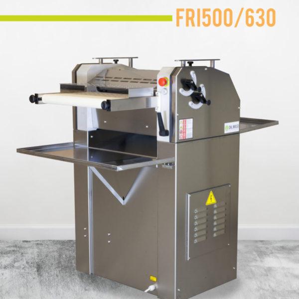 FRI500/630 kiflisodró gép, rozsdamentes burkolatokkal